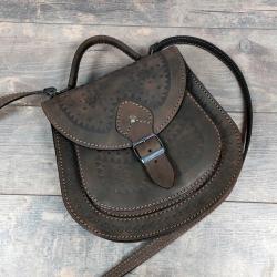 Женская сумка коричневая