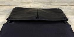 Портфель на магнитах большой чёрный