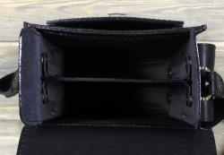 Планшет малый с карманами чёрный