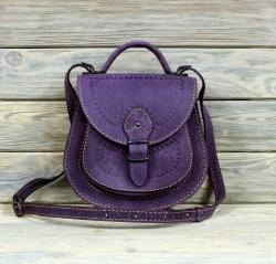 Женская сумка фиолетовая